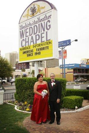 Wee Kirk O' the Heather Wedding Chapel : 3-20-13 Wedding
