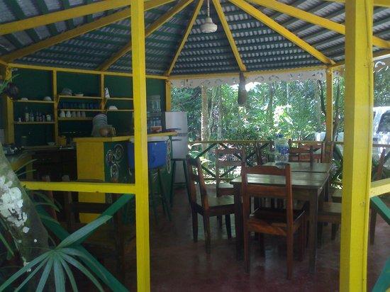Cabinas Punta Uva: cosina publica