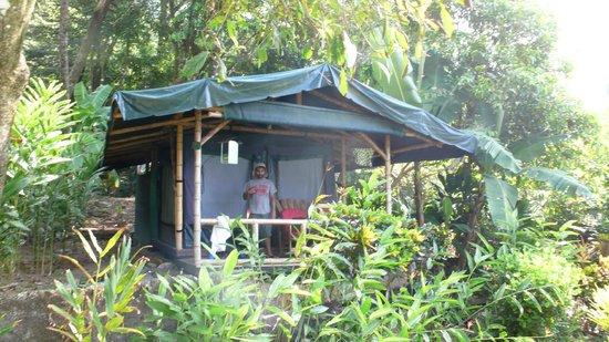 La Leona Eco Lodge: Our tent
