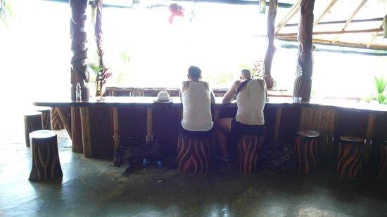 La Leona Eco Lodge: Bar