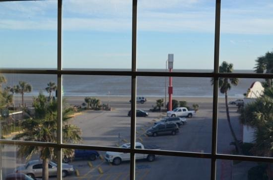 Quality Inn & Suites Galveston: view from our room !