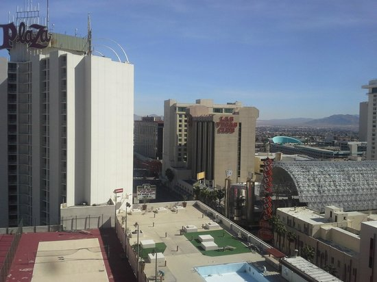 Plaza Hotel & Casino: View from our room, day.