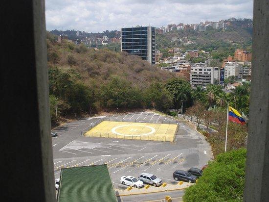 InterContinental Tamanaco Caracas: Vista desde la ventana de la habitacion