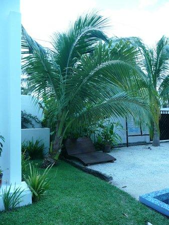 Villas El Encanto: 1 OF THE LOUNGING AREAS