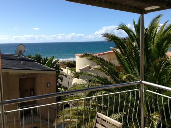 Onetangi Beach Apartments: view from the deck