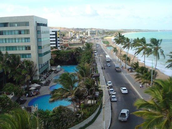Jatiuca Hotel & Resort: Vista desde la habitación