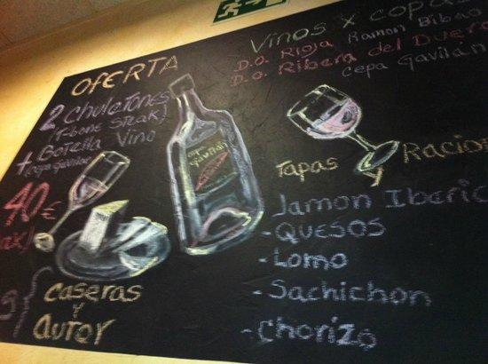 Don Ulpiano: menu'