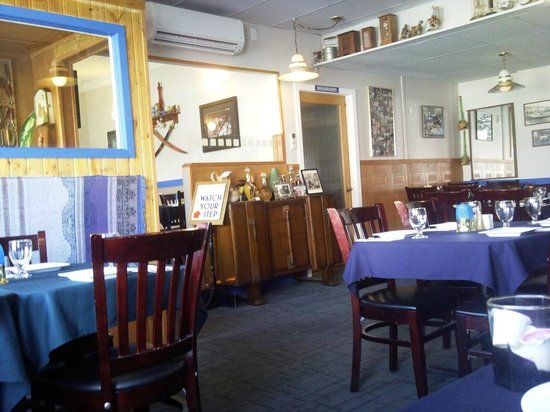 Spiro's Cubby Hole : partial view from my table