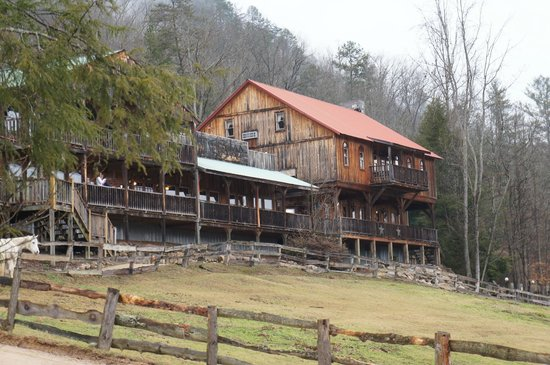 French Broad Outpost Ranch: The ranch