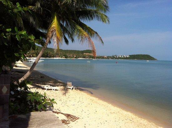 Kinnaree Resort: Beach