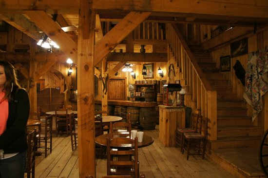 French Broad Outpost Ranch: The saloon