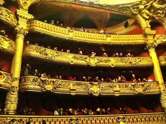Palais Garnier - Opera National de Paris: Rear balcony