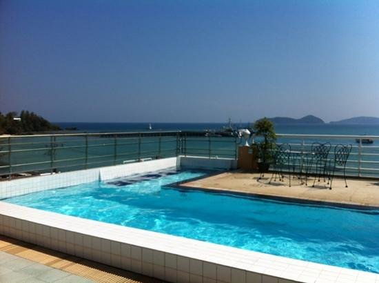 Kantary Bay, Phuket: the view from the roof top room.