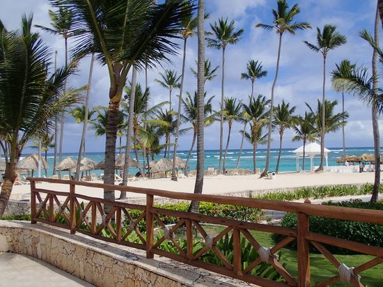 Majestic Colonial Punta Cana: View from Palapa Playa at Lunch