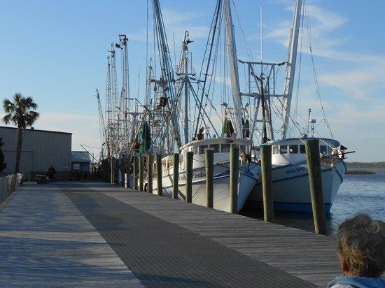 Apalachicola River Inn: Dock