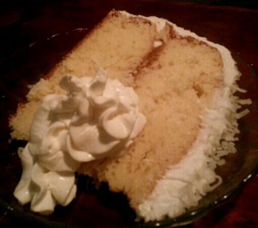 JP's Bistro: coconut cake
