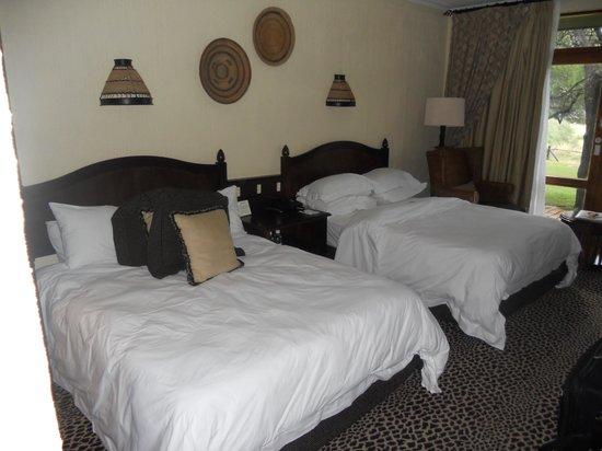 باكوبونج بوش لودج: Bedroom