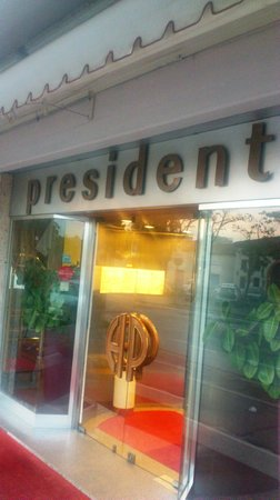 Hotel President Entrance