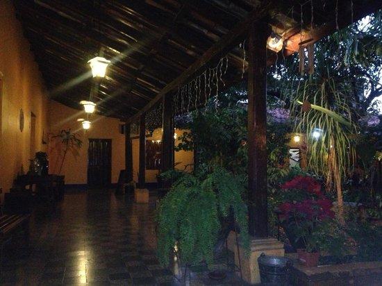 Chiquimula, Guatemala: Colonial Style interior