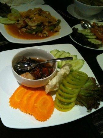 La Rose Boutique Hotel & Spa: Khmer food