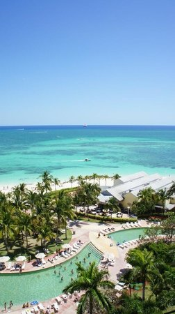 Grand Lucayan, Bahamas: View from our room on the 8th floor