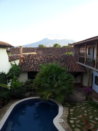 Hotel Patio del Malinche: View from outside my room