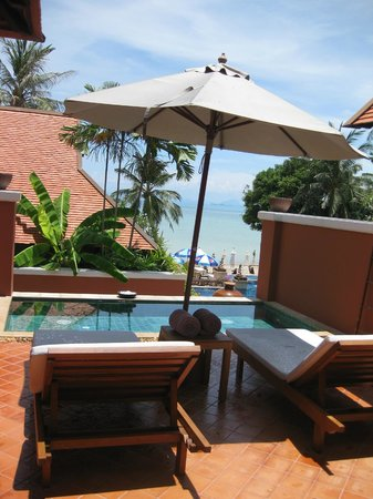 Renaissance Koh Samui Resort & Spa: Our pool villa