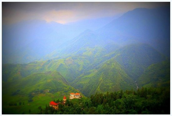 Sapa Summit Hotel : view from the hotel