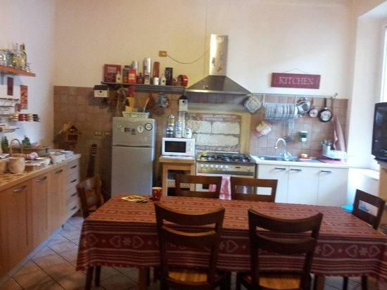 B&B Abazia: Kitchen