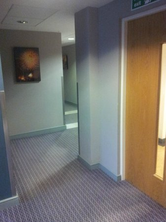 Princes Street Suites: Lift Lobby - walk towards apartments