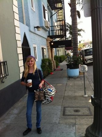 The Hotel Hollywood: shay at the hotel