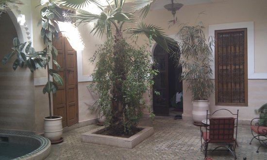 Riad RabahSadia: entre de la chambre jade