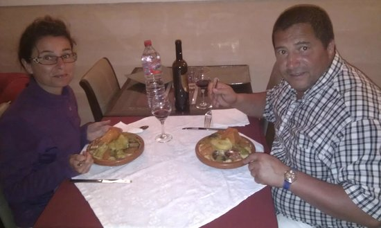 Riad RabahSadia: trop bon la cuisine
