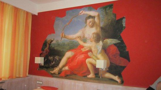 Hotel Adria Munchen: artwork - so Bavarian