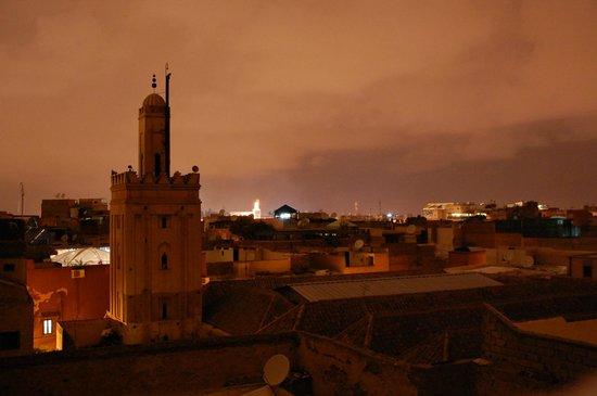 Riad Mouna: Panorama dalla terrazza