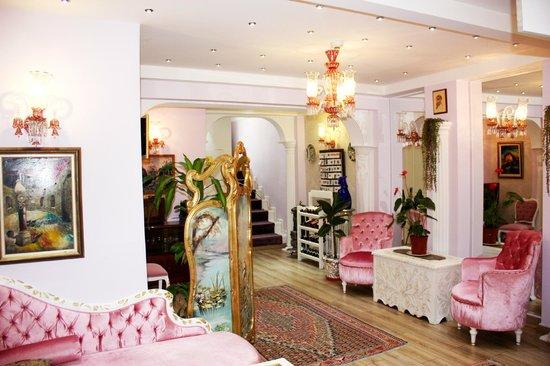 Romantic Hotel Istanbul: Interior