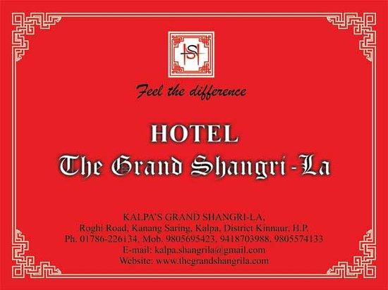 The Grand Shamba-La: Hotel The Grand Shangri-La