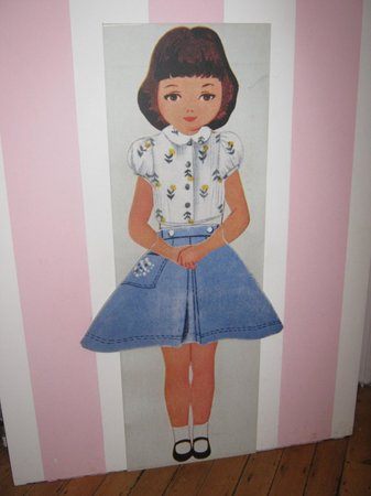 Hove Museum and Art Gallery: A doll in part of the Jacqueline Wilson exhibition