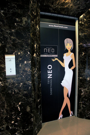 Hotel Neo Kuta Jelantik: Elevator