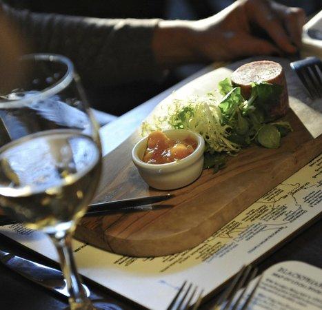 Dining experience at Blackfriars Restaurant