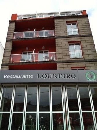 Hotel Loureiro: Fachada principal