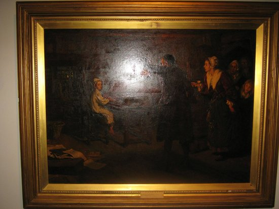 Hove Museum and Art Gallery: A painting in the art section