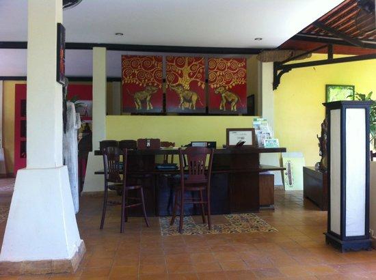 Pavillon d'Orient Boutique-Hotel: Lobby area