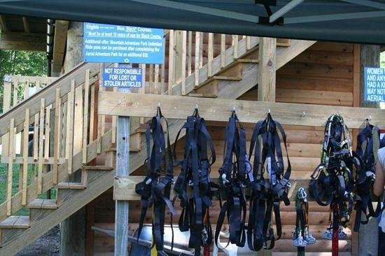 Jiminy Peak Mountain Resort: harnesses