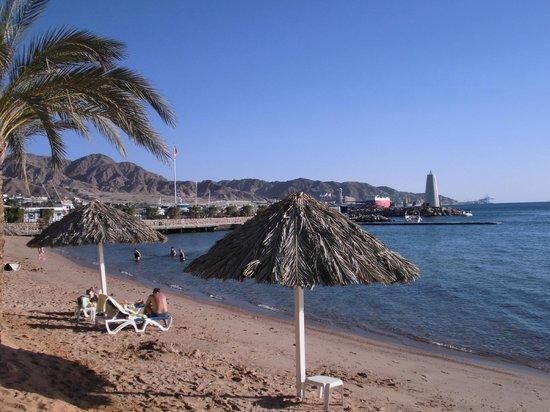 Moevenpick Resort & Residences Aqaba: Strandbereich