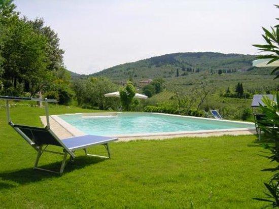 Le Civette Country Resort: Piscina panoramica