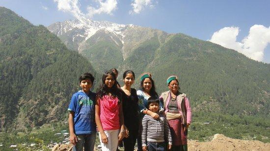 Rakcham : with locals