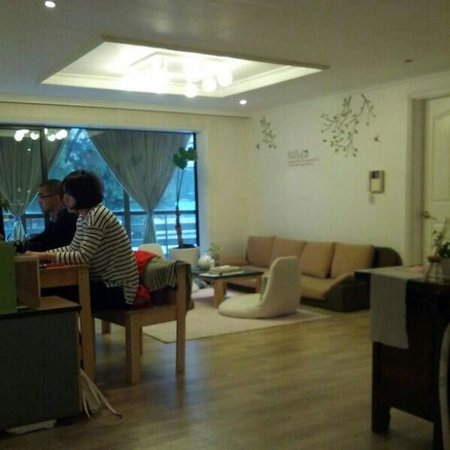 Namu Guesthouse: Living room