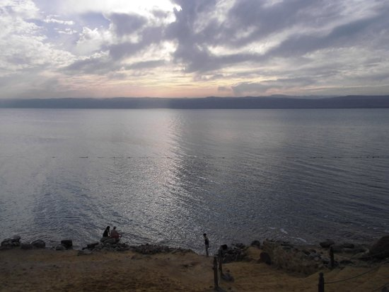 Kempinski Hotel Ishtar Dead Sea: Strandbereich