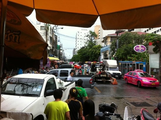 The street as you get off Wang Lang Pier - Picture of ...